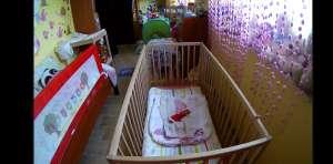 podgląd pokoju dziecka w dzień