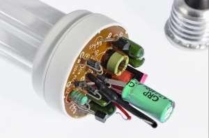 układ zasilający świetlówka energooszczędna