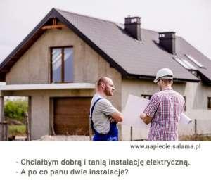 rozmowa o instalacji elektrycznej