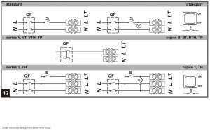 Schematy podłączenia wentylatora łazienkowego do instalacji lektrycznej