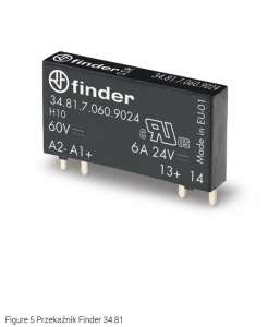 Przekaźnik Finder 34.81.7.060.9024
