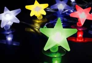 Komplet choinkowy, gwiazdki