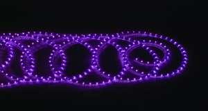 Fioletowy wąż świetlny
