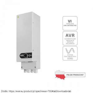 UPS do pieca CO lub rolet SPECLINE AVR 700