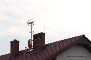 Źle zamontowana instalacja anten