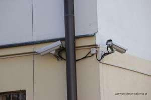 CCTV bez zachowanego odstępu izolacyjnego od instalacji odgromowej