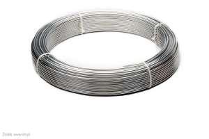 Drut odgromowy aluminiowy fi 8 ok 20 kg ok 148 m