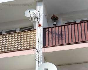 Brak odstępu izolacyjnego pomiędzy instalacja odgromową a innymi instalacjami