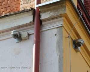 Brak odstępu izolacyjnego pomiędzy monitoringiem a instalacją odgromową