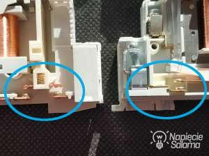 Przekaźnik i stycznik modułowy różnice w budowie styku