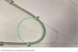 Testy skrętki z prawidłowym promieniem gięcia