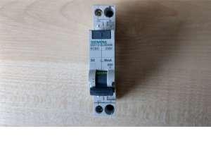 Siemens wyłącznik różnicowo-nadprądowy z wyzwalaczem elektromagnetycznym