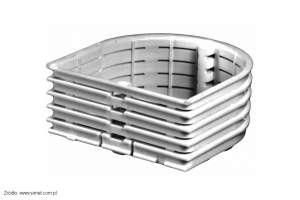 Zewnętrzny pierścień dystansowy PDM60Z do serii puszek Multiwall produkcji Simet