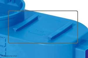 Szczegóły montażowe puszki kieszeniowej SE2x60 i SE2x60G produkcji Simet