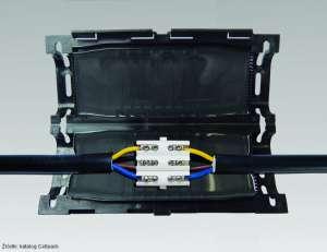 Cellpack przelotowa mufa żelowa Easy ze złączką. Easy 2V; Easy 3V; Easy 4V; Easy 5V