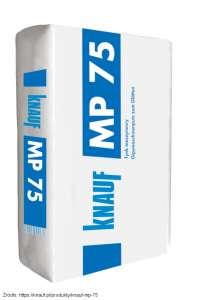 Użycie Knauf MP 75 pozwala instalatorowi na wygodne osadzanie puszek