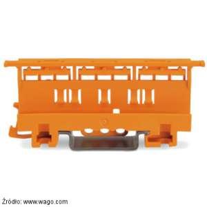 Wago adapter 221-510 do montażu szybkozłączek serii 221 (do 6 mm2) na płycie lub szynie TH35