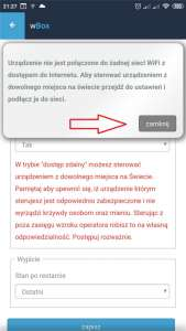 System Inteligentnego Domu Blebox - aplikacja wBox