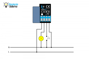 Blebox - switchBox schemat podłączenia
