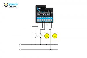 SwitchBoxD schemat podłączenia Blebox