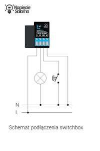 System Inteligentnego Domu Blebox - schemat podłączenia elementu