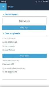 System Inteligentnego Domu Blebox, aplikacja wBox
