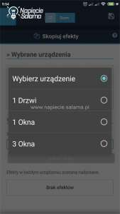 Blebox, widok w aplikacji wBox - automatyka
