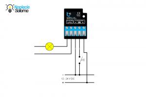 Schemat podłączenia switchBox DC Blebox