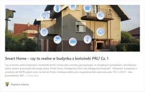 Smart Home, czy to realne w budynku z końcówki PRL