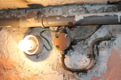 instalacja elektryczna z przed lat